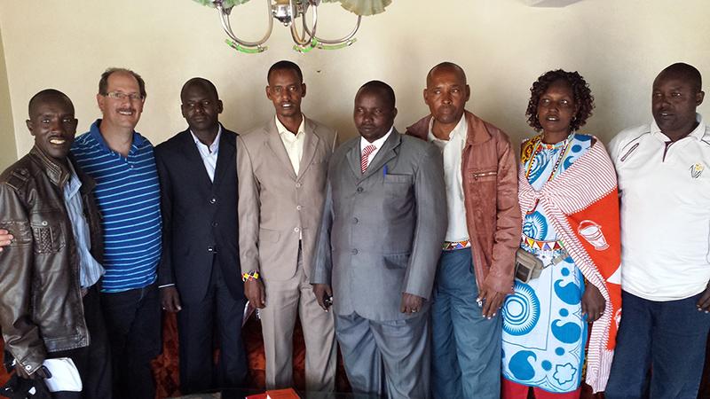 KINEK WRUA Kenyan Leaders with Hon. Justus Kiles Ole Ngossor & Clifford Yantz